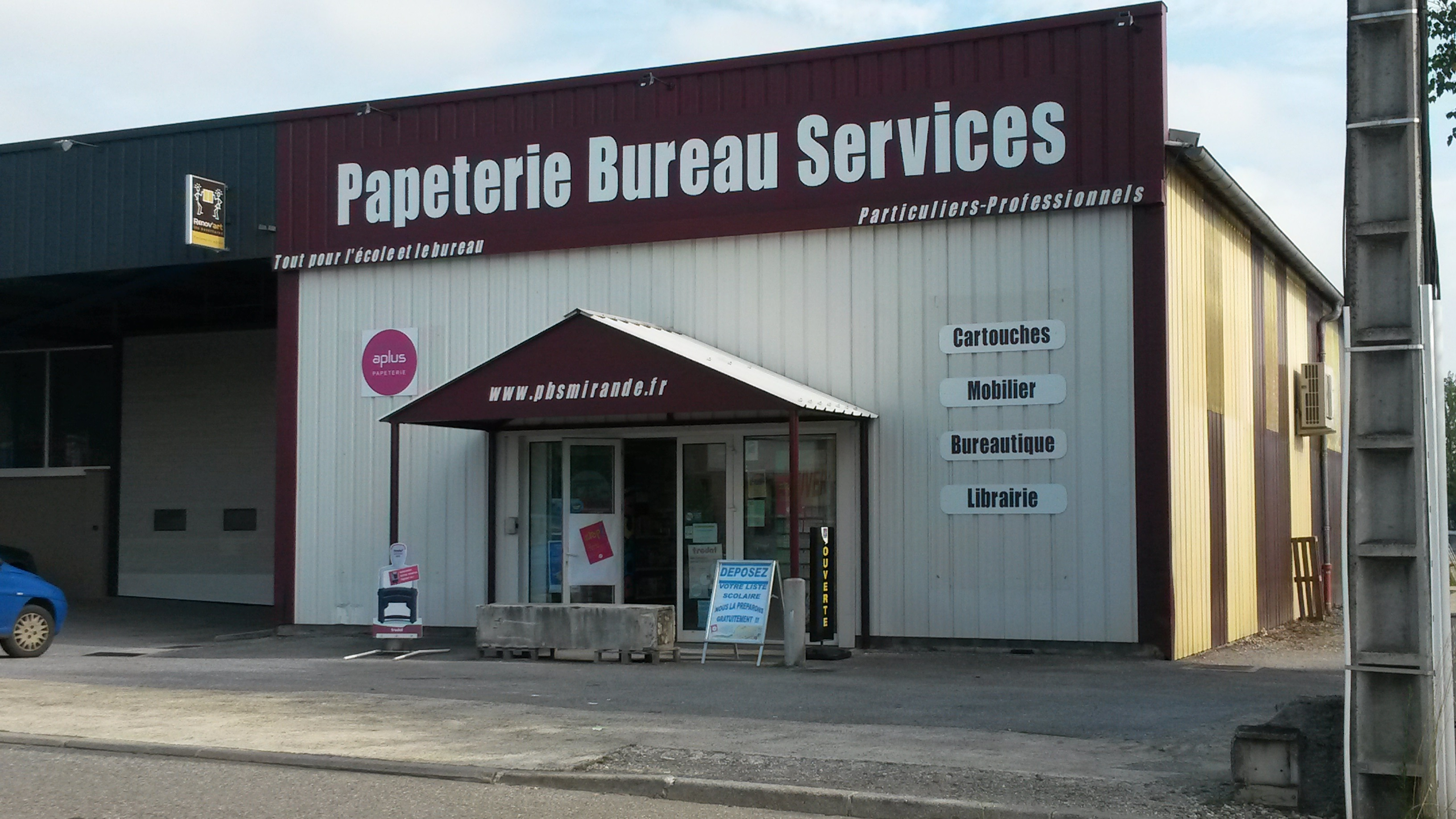 Papeterie bureau services accueil for Bureau papeterie
